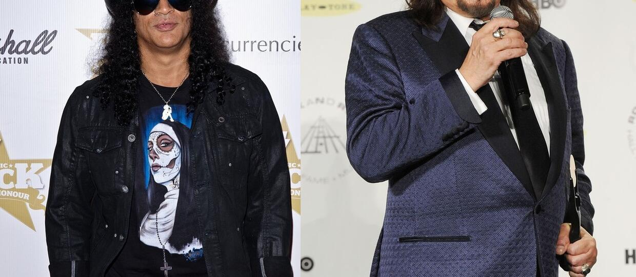 Slash i Ace Frehley w coverze Thin Lizzy