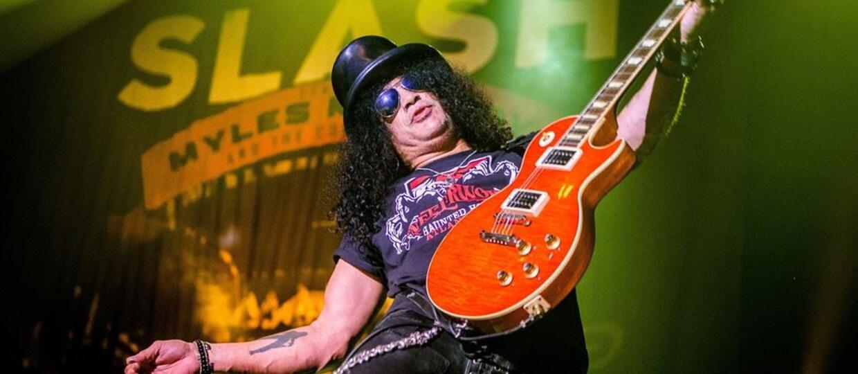 Slash już pracuje nad nową płytą!