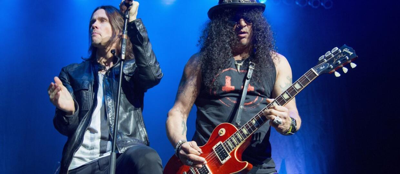 Slash wyda koncertowe DVD