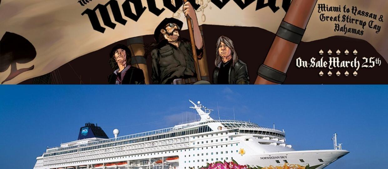 Slayer i Anthrax na łodzi Motorhead