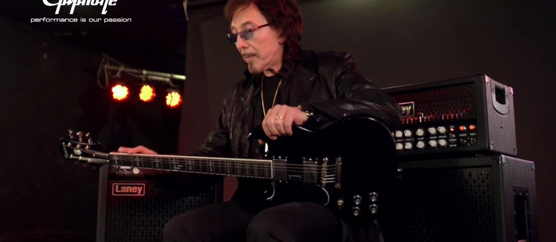 Tony Iommi zaprojektował elegancką gitarę