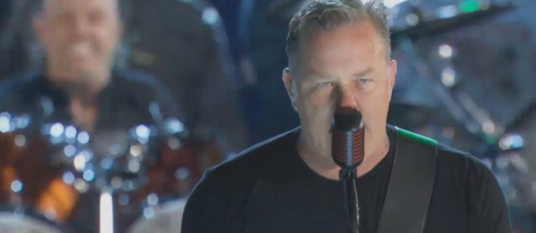 Zobacz, jak Metallica wymiata dla weteranów!