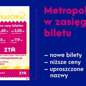 Metropolia w zasięgu biletu!