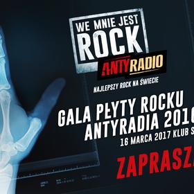 Wygraj bilety na galę Płyty Rocku 2016 Antyradia