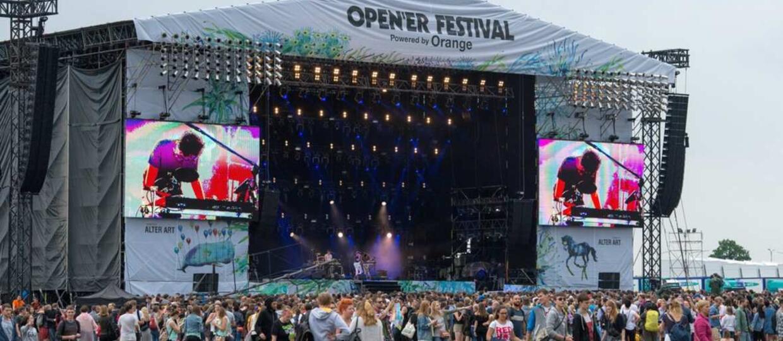 Antyradio objęło patronat nad Open'er Festival 2017