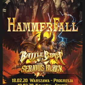 Hammerfall zagra 2 koncerty w 2020 roku