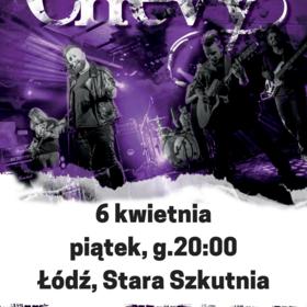 Koncert Chevy w Łodzi i Warszawie