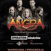 Koncert grupy Angra w Warszawie