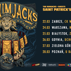 The Rumjacks na 6 koncertach w Polsce