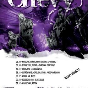 Trasa koncertowa grupy Chevy
