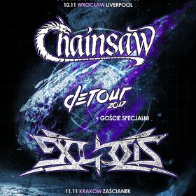 Wspólna trasa Chainsaw i Exlibris - DeTour 2017