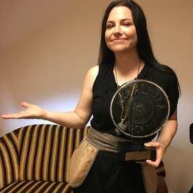 Amy Lee odebrała statuetkę dla Wokalistki Rocku Antyradia 2016