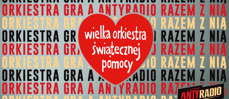 Antyradio gra z Wielką Orkiestrą Świątecznej Pomocy