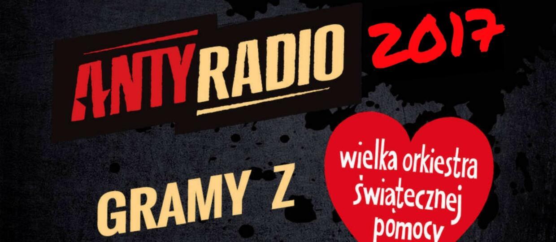 Antyradio gra z WOŚP w 2017 roku! Zobacz radiowe aukcje