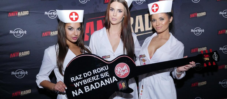 Badania przedwyborcze - finał rock'n'rollowej akcji w Warszawie
