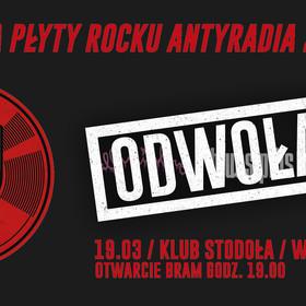 Gala Płyty Rocku Antyradia 2019 została odwołana