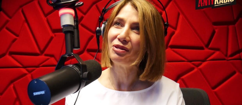 """Grażyna Wolszczak w """"Godzinie Na Gości"""" w Antyradiu"""