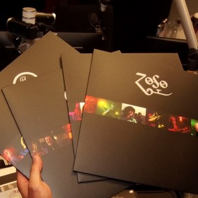 Unboxing The Song Remains The Same Led Zeppelin