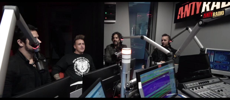 Papa Roach odwiedził studio Antyradia
