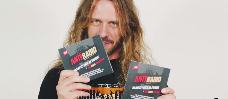 """Płyta """"Antyradio - Najlepszy rock na świecie + Antyradio Unplugged"""" już w sklepach!"""