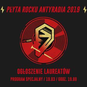 Grafika audycji Płyta Rocku Antyradia 2019 ON AIR