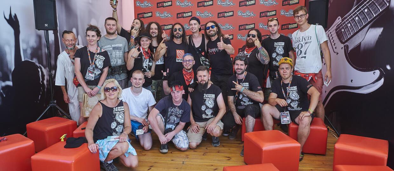 Namiot Spotkań Antyradia na Pol'and'Rock 2018