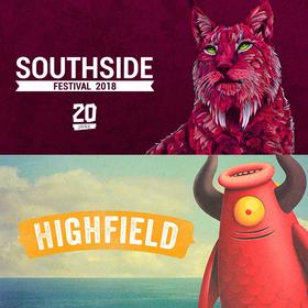 Wygraj bilety na Hurricane Festival, Southside Festival i Highfield Festival