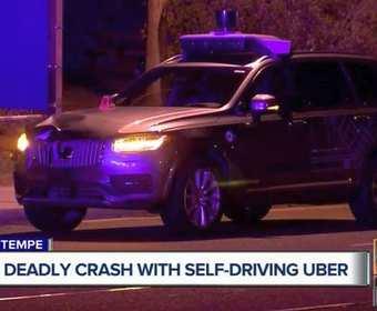 Autonomiczny samochód Ubera zabił w czasie testów przechodnia