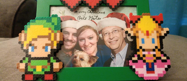 Bawiła się w Tajemniczego Mikołaja, dostała prezent od Billa Gatesa