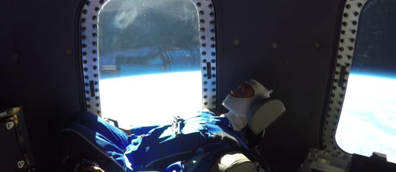 Blue Origin pokazał wideo z wycieczki w kosmos