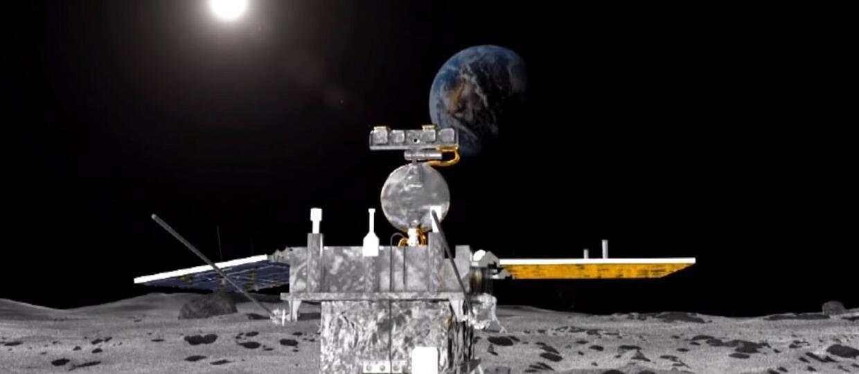 Chiński lądownik Chang'e 4 wylądował na niewidocznej stronie Księżyca. Zasadzi ziemniaki