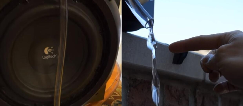 Czy dźwiękiem można zamrozić wodę lub cofnąć jej bieg?