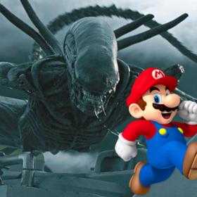 Mario i Ksenomorph