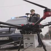 Dron sprawdza czystość spalin w kominach - sypią się mandaty