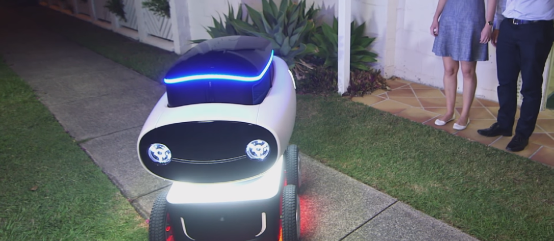 DRU – autonomiczny robot dowożący pizzę