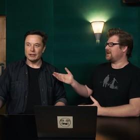 Elon Musk i Justin Roiland