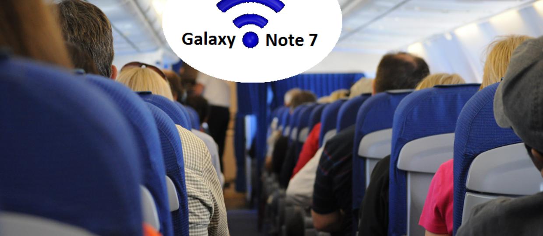 Jak kończą się żarty z Galaxy Note 7 w samolocie?