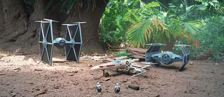 """Jak wyglądają """"Gwiezdne wojny"""" dronów?"""