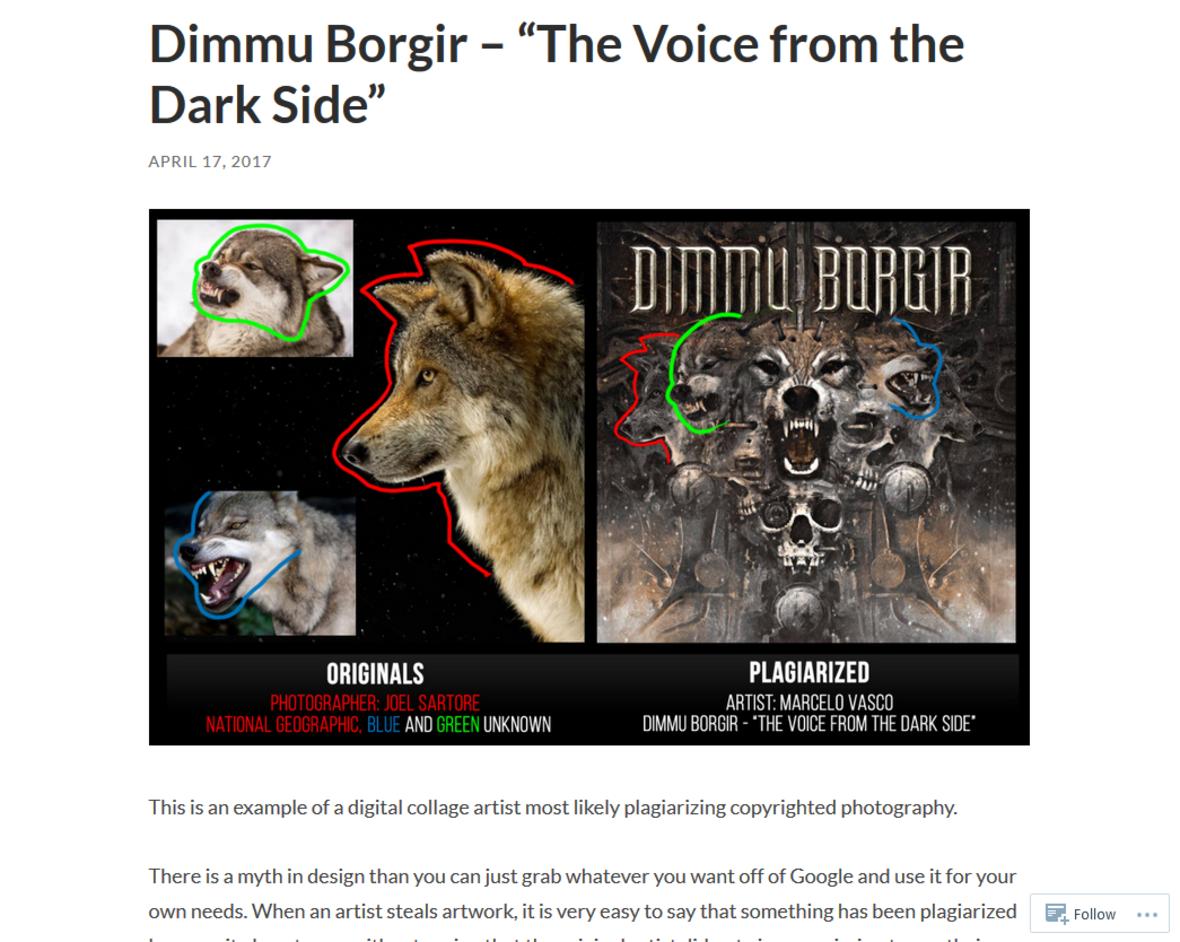 Jak zespoły metalowe plagiatują na swoich okładkach?