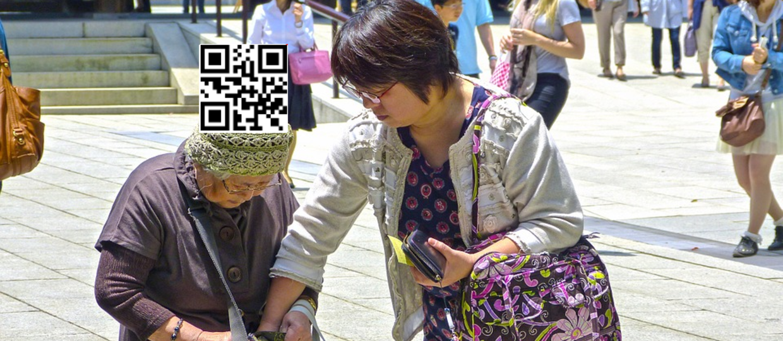 Japończycy znakują starsze osoby kodami QR