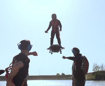 Flyboard Air Latająca deskorolka z silnikiem odrzutowym