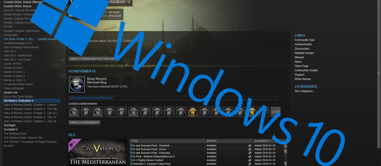 Microsoft sprawi, by gry na Steamie działały coraz gorzej