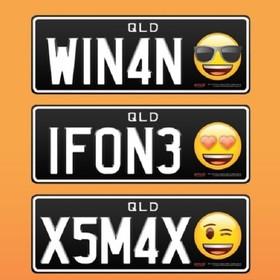 tablice rejestracyjne z emoji