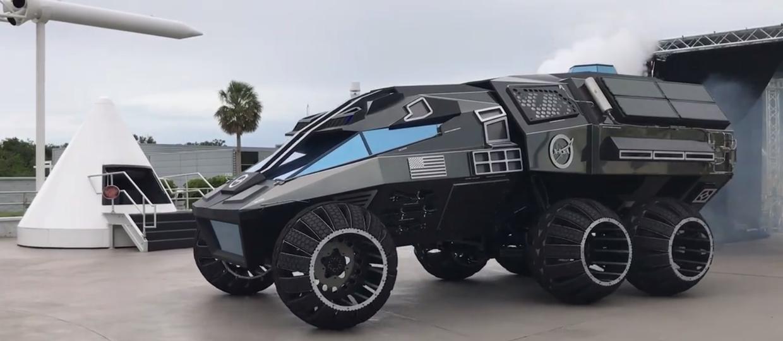 NASA pokazała prototyp marsjańskiego samochodu