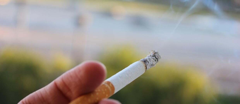 palenie papierosa