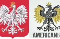 polskie godło i logo kryptowaluty Americanbit