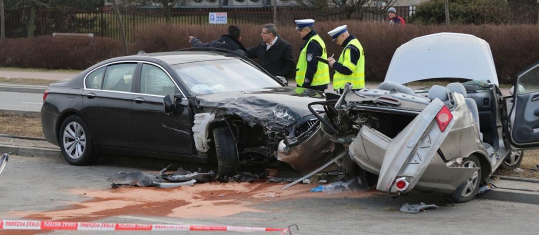 wpadek samochodowy