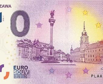 polski banknot 0 euro