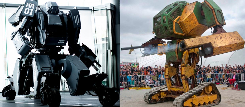 Powstaje liga walczących robotów