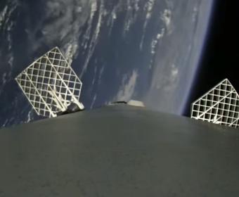 Rakieta Falcon 9 nagrała powrót z kosmosu